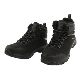 American Club Americké trekové softshellové boty s membránou černá 2