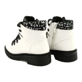 Tisk Módní bílé boty Evento 20DZ60-3232 bílá černá 3