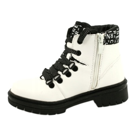 Tisk Módní bílé boty Evento 20DZ60-3232 bílá černá 1