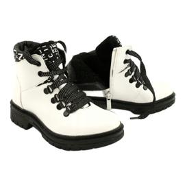 Tisk Módní bílé boty Evento 20DZ60-3232 bílá černá 4