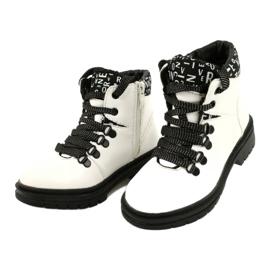 Tisk Módní bílé boty Evento 20DZ60-3232 bílá černá 2