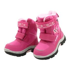 Softshellové boty American Club s membránou HL47 / 20 růžová růžový 2