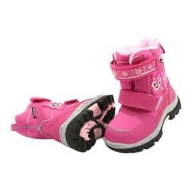 Softshellové boty American Club s membránou HL47 / 20 růžová růžový 3