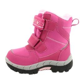 Softshellové boty American Club s membránou HL47 / 20 růžová růžový 1