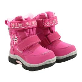 Softshellové boty American Club s membránou HL47 / 20 růžová růžový 4
