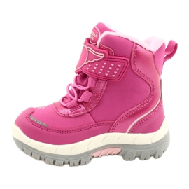 Softshellové boty American Club s membránou HL48 / 20 růžová růžový stříbro 1