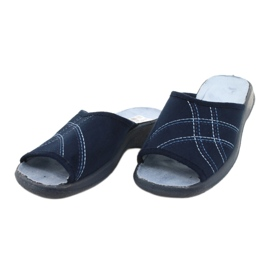 Dámské boty Befado pu 442D147 modrý 3