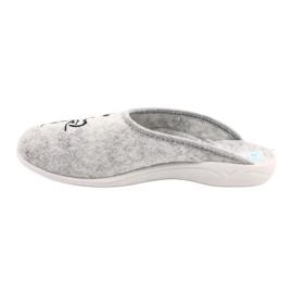 Plstěné pantofle Wake Up Adanex 25642 šedá černá 1