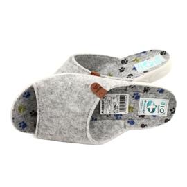 Plstěné pantofle Adanex 25494 šedá 4
