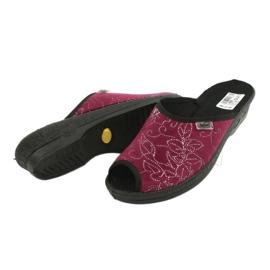 Dámské boty Befado pu 581D195 červená vícebarevný 4