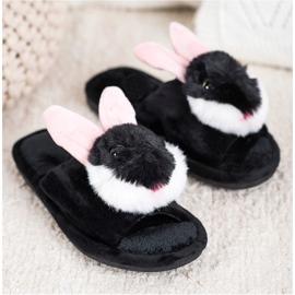 Bona Bunny pantofle černá 2
