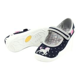 Dětská obuv Befado 114X414 válečné loďstvo šedá 4