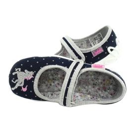 Dětská obuv Befado 114X414 válečné loďstvo šedá 5