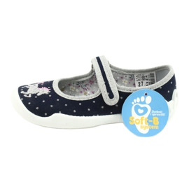 Dětská obuv Befado 114X414 válečné loďstvo šedá 6