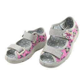 Dětská obuv Befado 969X162 růžový stříbro 3