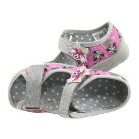 Dětská obuv Befado 969X162 růžový stříbro 5