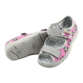 Dětská obuv Befado 969X162 růžový stříbro 4