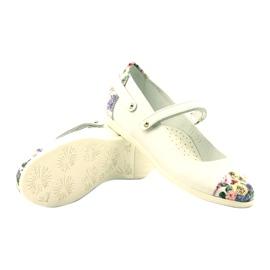 Baleríny dívky kytky Bartek bílé vícebarevný bílá 3
