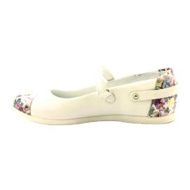 Baleríny dívky kytky Bartek bílé bílá vícebarevný 2