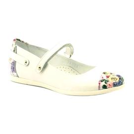 Baleríny dívky kytky Bartek bílé vícebarevný bílá 1