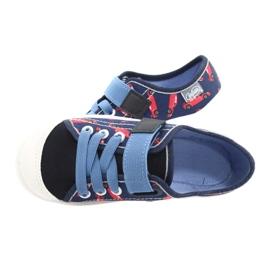 Dětská obuv Befado 251X160 červená válečné loďstvo modrý 5