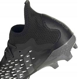 Kopačky Adidas Predator Freak.1 Fg Junior FY1027 černá černá 8