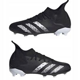 Kopačky Adidas Predator Freak.3 Fg Junior FY1031 černá černá 7