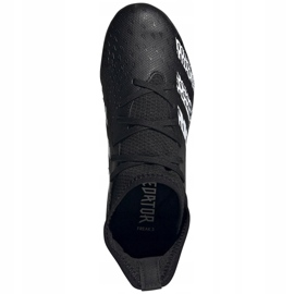 Kopačky Adidas Predator Freak.3 Fg Junior FY1031 černá černá 5