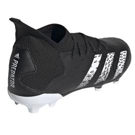 Kopačky Adidas Predator Freak.3 Fg Junior FY1031 černá černá 4