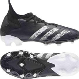 Kopačky Adidas Predator Freak.3 Fg Junior FY1031 černá černá 8