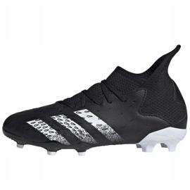 Kopačky Adidas Predator Freak.3 Fg Junior FY1031 černá černá 2