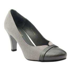 Šedé boty Espinto 532/1 šedá 1