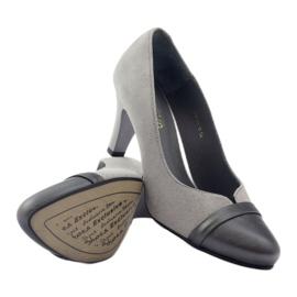 Šedé boty Espinto 532/1 šedá 3