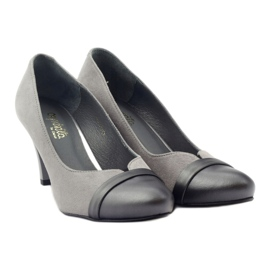 Šedé boty Espinto 532/1 šedá 4