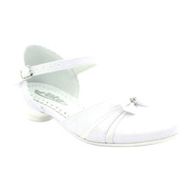Zdvořilostní baleríny Communion Miko 702 bílá 1