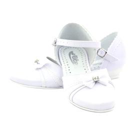 Zdvořilostní baleríny Communion Miko 702 bílá 3