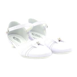 Zdvořilostní baleríny Communion Miko 702 bílá 4