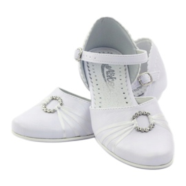 Dámská balerína Miko 710 bílá 3
