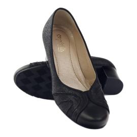 Dámské boty Espinto tęg G1 / 2 černé černá 3