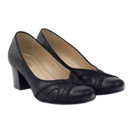 Dámské boty Espinto tęg G1 / 2 černé černá 4