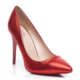 Small Swan Ženské červené čepice červená 2