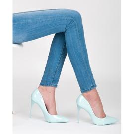 Vices Klasické vysoké podpatky modrý 2