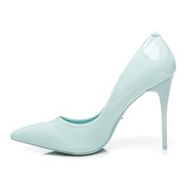 Vices Klasické vysoké podpatky modrý 4