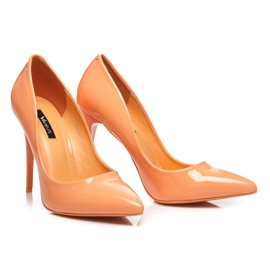 Vices Klasické čepice oranžový 6