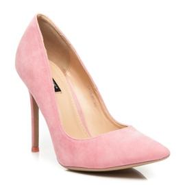 Vices Suede Pins růžový 4
