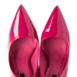 Betler Lakované podpatky růžový 1