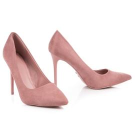 Suede VICES růžový 6
