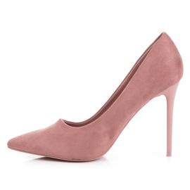 Suede VICES růžový 4